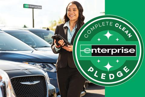 Enterprise complete clean pledge; employee by cars