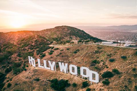 Los Angeles, Hollywood Sign by Dylan Schwartz
